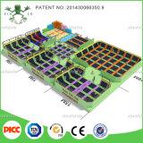 Гарантия на протяжении длительного времени в Китае для использования внутри помещений батут парк оборудования для продажи