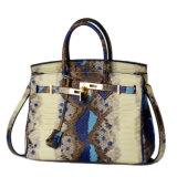 Классическое портмоне женщин кожаный мешка хорошего качества конструкции неподдельное
