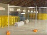 Il PVC ha ricoperto i comitati di recinzione provvisori di marca di 10FT x di 6FT Akzo Nobel