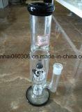 Conduite d'eau rose en verre de tube avec 8 '' Perc