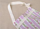 Tablier de cuisine en coton et lin en coton imprimé pour vêtements à domicile
