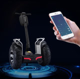 Scooter électrique de PRO du char 4000W double pneu électrique intelligent de la batterie 1266wh 72V 21-Inch gros