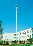 고품질 단 하나 관 원거리 통신 탑
