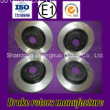 E1r90 ISO/TS16949 Autopeças discos de freio para carros Suzuki