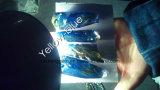 Doubel 색깔 황색 - 파란 강옥 물자