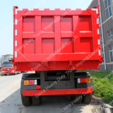 Vente en usine 90mm King Pin 45m3 Cargo Box Dump Semi-Trailer
