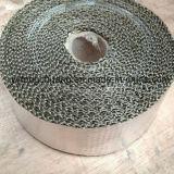 Fita da fibra do basalto da isolação térmica da lava com alumínio