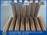 Od37mm micrones Filtro de agua/ss316L Tubo para máquina de ranura