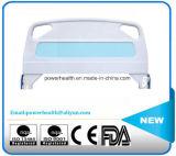 El panel del plástico de la cama de hospital