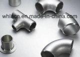 Bâti d'acier inoxydable pour la pipe de té avec des garnitures de pipe (bâti perdu de cire)