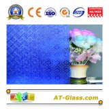 4mm, het Gevormde Glas van 5mm flora-Brons/flora-Donker Blauw Gevormd Glas