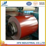 El color de alta resistencia del material de placa de acero cubrió la bobina de acero