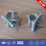 Bride de bride en plastique noire de garnitures de clip de Nylon/ABS/PP/PE/POM/PA/PVC pour le tube et la pipe