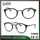 Último projeto popular espectáculo inoxidável estrutura óptica óculos de óculos