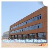 Estrutura de aço leve prefabricadas de lona Warehouse