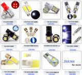 レンズDC 12V Canbus Pority RGBカラー自動LEDランプが付いているT10 5730 6SMD LEDランプ