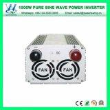 Inverseurs purs de l'onde sinusoïdale de DC48V AC110/120V 1500W (QW-P1500)
