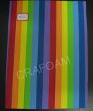 Strato multicolore della gomma piuma (EF010)