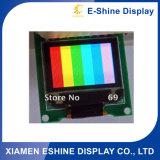 Caracteres gráficos a color de la pantalla del televisor OLED para la venta
