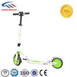 電気スクーターのバランスをとっている2つの車輪の自己