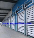 엄밀한 고속 문 단단한 급속한 회전 셔터 문 또는 산업 문