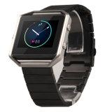 De Band + het Frame van de Riem van het Horloge van het Roestvrij staal van de Armband van de link voor de Drijver van de Uitbarsting Fitbit