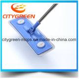 Mop чистки пола Microfiber с телескопичной длинней ручкой