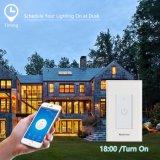 Switch inteligente WiFi funciona com o interruptor de toque inicial do Google Alexa para EUA Canadá México