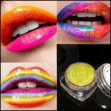 다채로운 립스틱 진주 안료