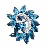 Blumen-Entwurfs-Kristallarmband für Strickjacke-multi Farben