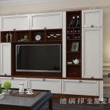 TVのキャビネットおよび棚が付いている居間の家具の食料貯蔵室のキャビネット