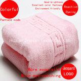 中国の工場卸売の取り除く/Giftsのための反応染まる明るさのColoufulの浴室タオル
