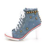 Sapatos de salto alto Luxury Design Senhoras vestir as sapatas de terceiros