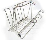 Reihe-Tellerständer des Küche-Chrom überzogener Stahl-2 mit Drainboard