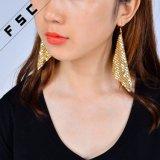 Pendiente plateado oro 2017 de la aleación de Boho de la vendimia de la joyería de China
