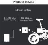 Shimano 6 속도 (CMS-F16)를 가진 16 인치 알루미늄 합금 경량 접히는 Ebike