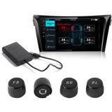 Sistema de monitoreo de presión de neumáticos TPMS 4 sensores externos para los vehículos de exploración de Android 4.4 5.0 6.0