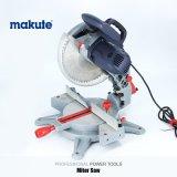 Hulpmiddelen van de Macht van Makute 255mm de MiniZaag van de Scheiding 1600W