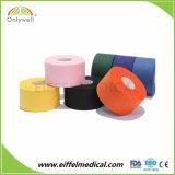 Дешевые красочные хлопка спортивные обвязки на клейкую ленту для спортивных мышцы