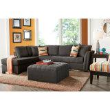 Sofás de tecido seccional moderna sala de estar para usar (SO-03)