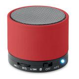 아BS 주문을 받아서 만들어진 로고를 가진 LED 가벼운 표시를 가진 둥근 Bluetooth 스피커