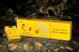 Embalaje de papel negro rígido de empaquetado negro al por mayor de los rectángulos de cigarro del regalo del rectángulo