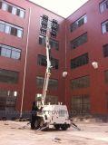 Usine d'éclairage LED de la tour lumineuse portatif pliable hydraulique 270L 10m personnalisés à l'extérieur de gaz de la carrière d'exploitation minière de l'essence Oilfield matériel de construction de la machine