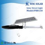 30W de alta potência de luz Rua Solar com controle remoto