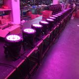 RGBW 24X12 IP65 Waterproof a luz ao ar livre da PARIDADE do diodo emissor de luz do quadrilátero