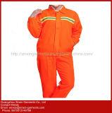 Workwear reflexivo do desgaste feito sob encomenda da segurança do Vis da laranja olá! para os homens e as mulheres (W368)