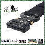 Cinghia militare della cinghia tattica di nylon con l'inarcamento registrabile del metallo