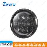 linterna redonda de 7inch 105W LED con la luz corriente diurna