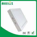 Luz de painel montada de superfície quadrada de venda superior do diodo emissor de luz 12W