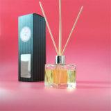 Quadratische Kristallflaschen-organisches Aroma Diffusor mit Geschenk-Satz